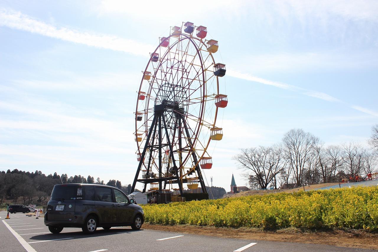 ドイツ村には観覧車もあります