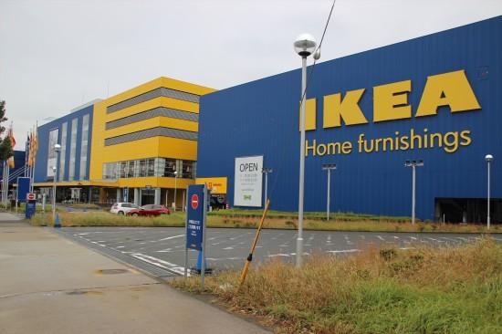 IKEA港北に到着!
