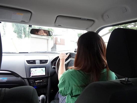 休日はアウトドアにクルマを利用!ドライブが大好きだというアクティブな中村さん