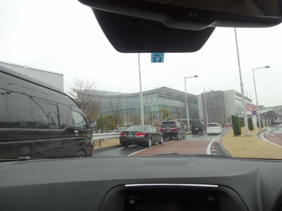 今回の目的地、羽田空港国際線旅客ターミナルに到着!