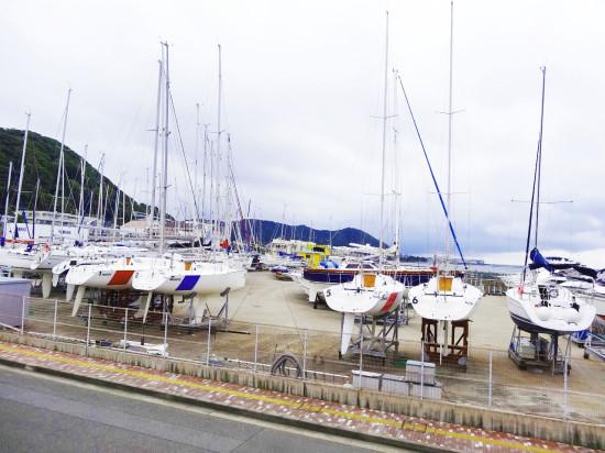 葉山は「日本ヨット発祥の地」なのだそうです
