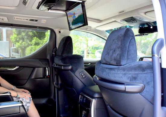 圧倒的な広さの後部座席が魅力のヴェルファイア