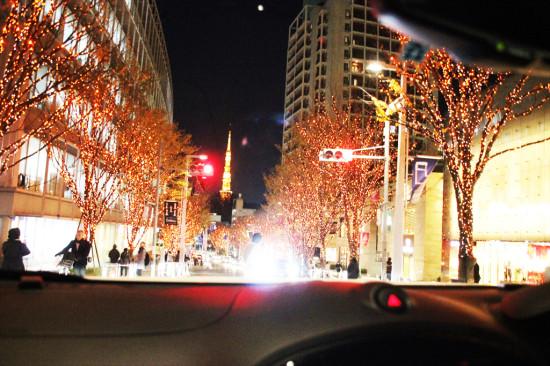 暖かな雰囲気のCANDLE&AMBER。けやき坂からは東京タワーも見える