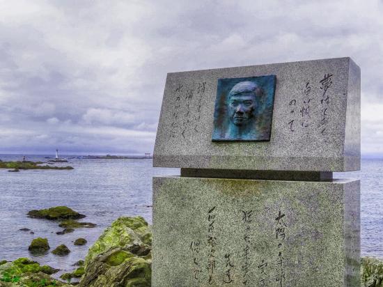湘南を愛した石原裕次郎さんの記念碑がありました