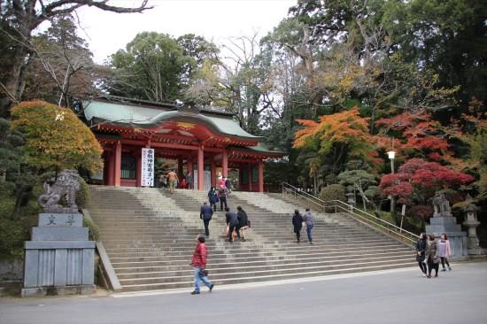 重要文化財にもなっている「桜門」