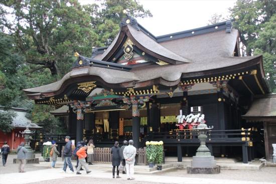 2013年に大修理が行われた本殿は元禄13年(1700年)に建てられたもの