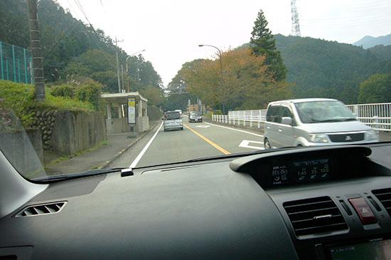 いざ、山道のドライブ
