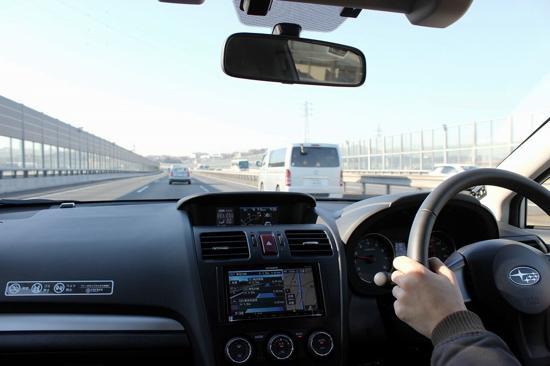 カレコのSUBARU XVは運転支援装置「アイサイト」を装着