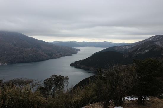 芦ノ湖が見下ろせました!都内より寒いので防寒を忘れずに!