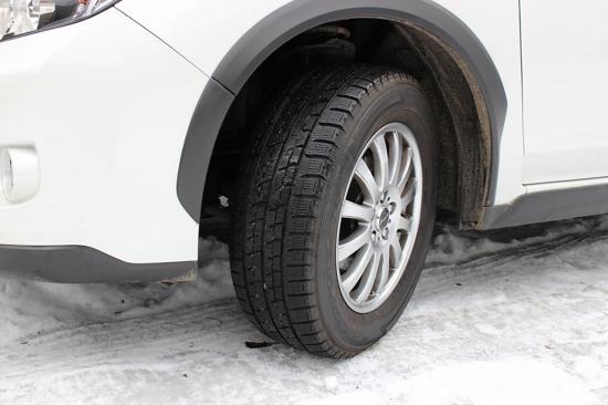 積雪のある道はできるだけ避けて運転しよう