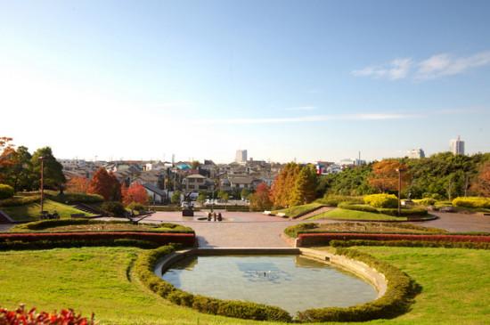 青葉の森公園は4つのエリアに分かれている