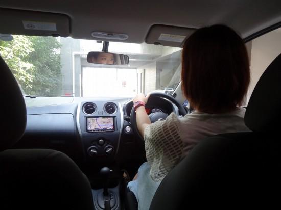 カレコのおかげで運転スキルもばっちり!