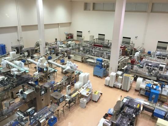 うなぎパイの工場はこんな風になっているんですね
