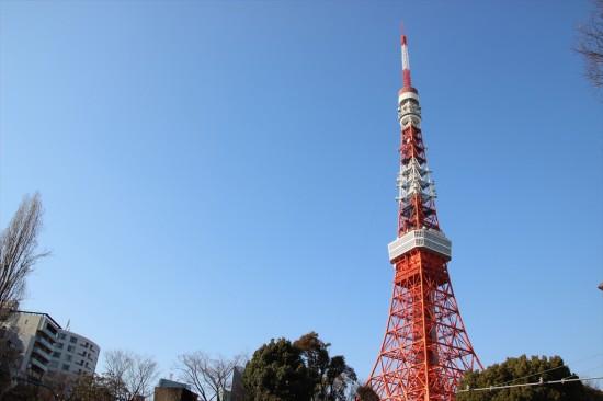 ちなみに会社の周辺からは東京タワーは間近に見られます。