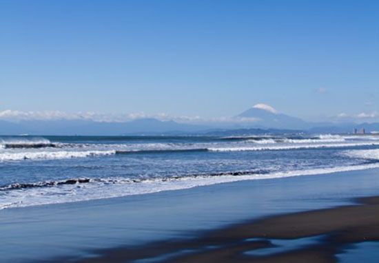 江ノ島からも富士山を撮影できる
