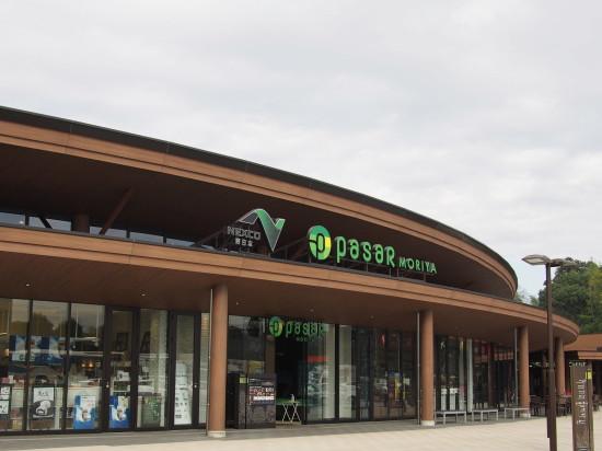 常磐道に新しくオープンしたSA「pasar守谷」