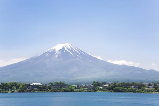 天気がいい場合は、富士山が真正面に見える