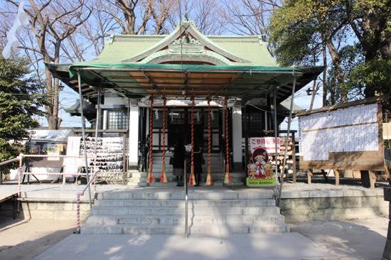 両さん絵馬やお守りがある香取神社