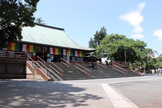 川越周辺にもたくさんの寺社仏閣がある
