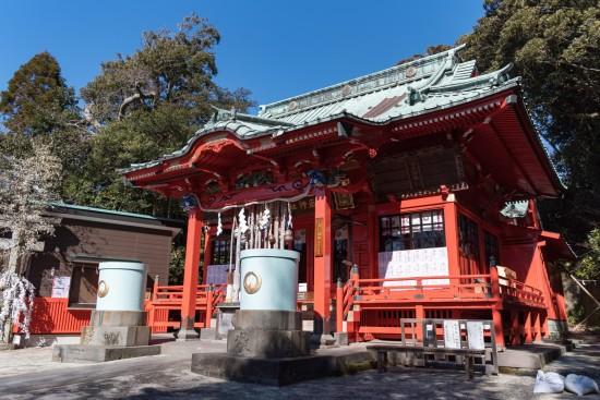 海南神社は三浦の総鎮守として創建された