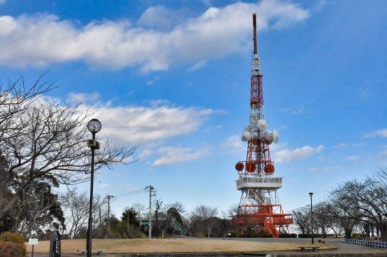 旧展望台と呼ばれるテレビ塔展望台
