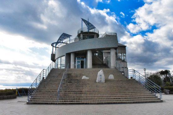 新展望台のある「高麗山公園レストハウス」