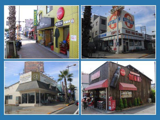 アパレルショップや雑貨店、飲食店などがあり歩いているだけで楽しい