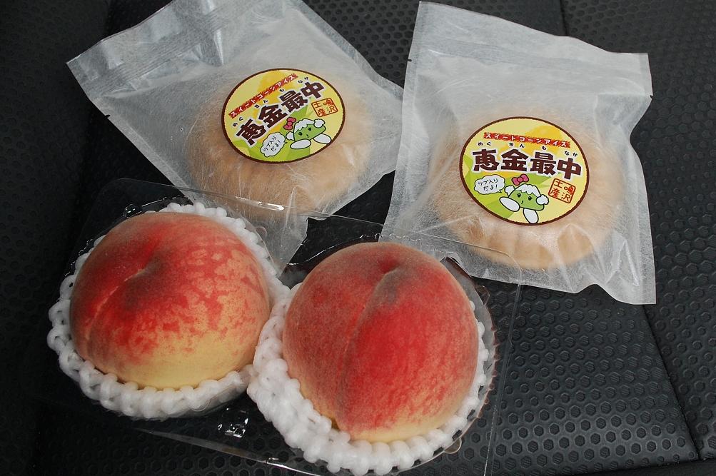 山梨県は桃の生産量が日本一。品種を変えながら、6月中頃から8月中頃まで販売される