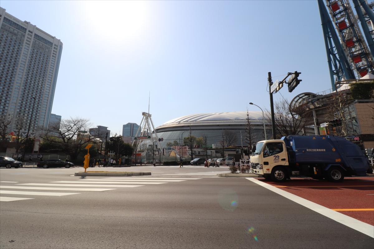 東京ドームのある東京ドームシティにはショッピングが楽しめるLaQua(ラクーア)も