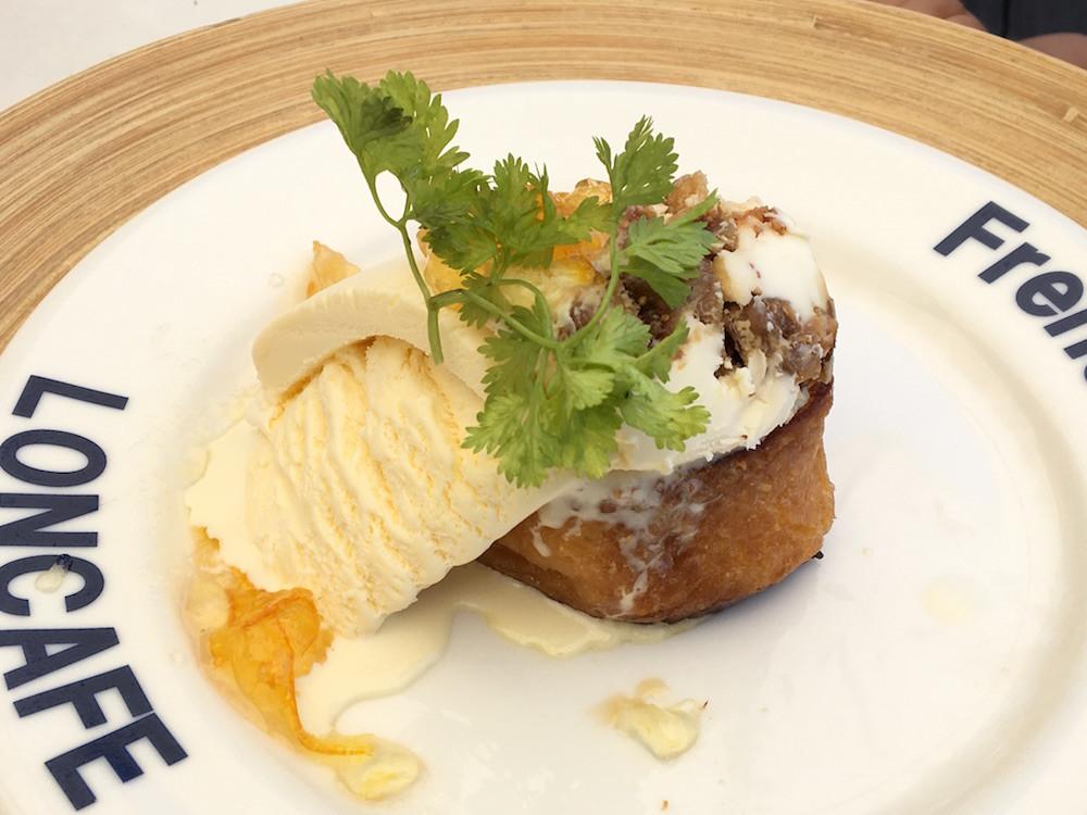 「いちじくとクリームチーズ」(税込み1,390円)。相性バッチリの濃厚なテイストがやみつきに