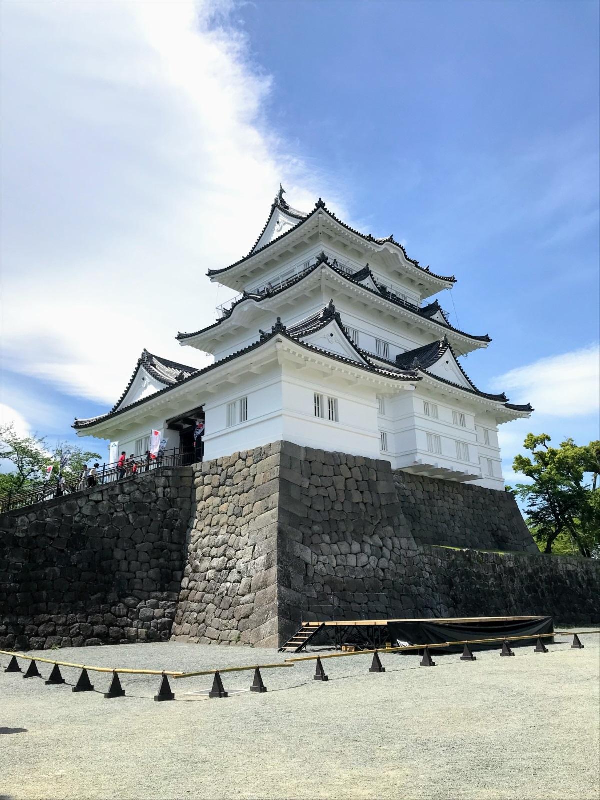 「平成の大改修」を終えたばかりの難攻不落の城・小田原城!
