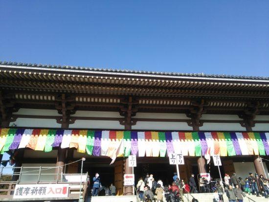「成田山新勝寺」も初詣として定番