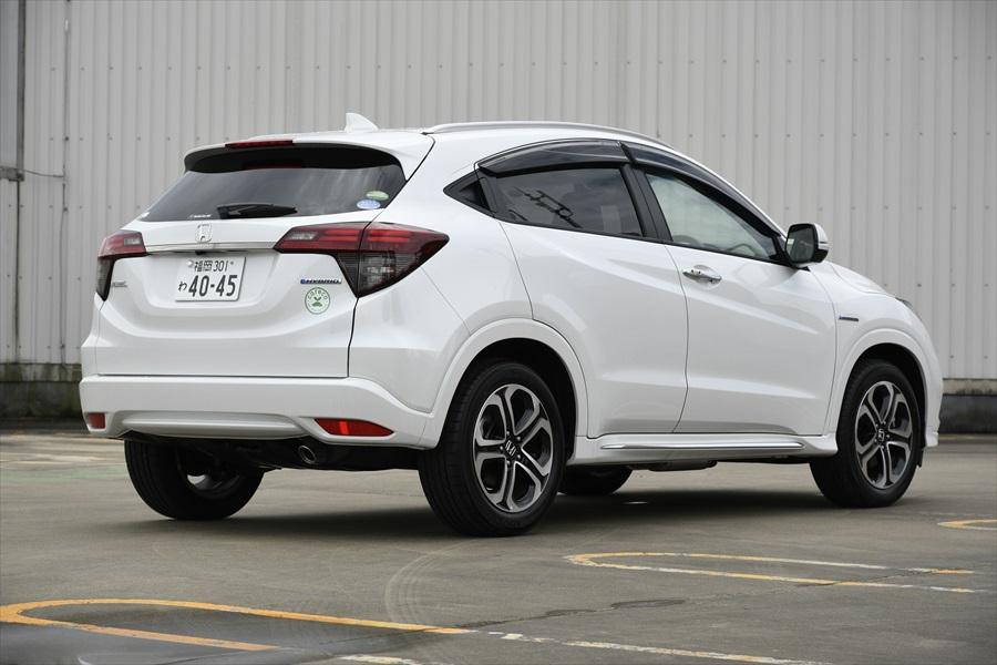 スポーツタイプの17インチアルミホイールは「HYBRID Z・Honda SENSING」だけのアイテム