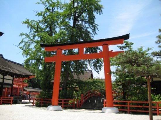 古都京都の文化財である「下鴨神社」