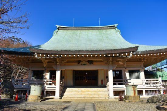 立派な豪徳寺本堂