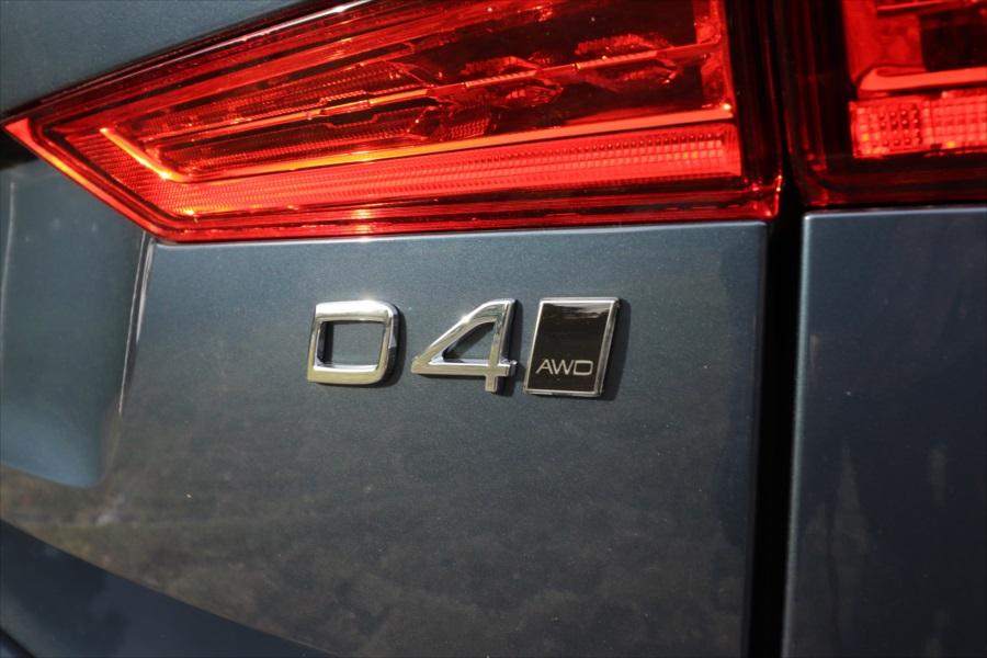ディーゼルエンジン「D4」は力強さが印象的。燃料は軽油