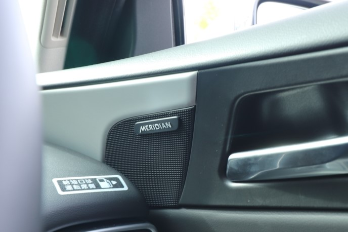 「XE-PRESTIGE」も、「MERIDIAN」サウンドシステムを搭載