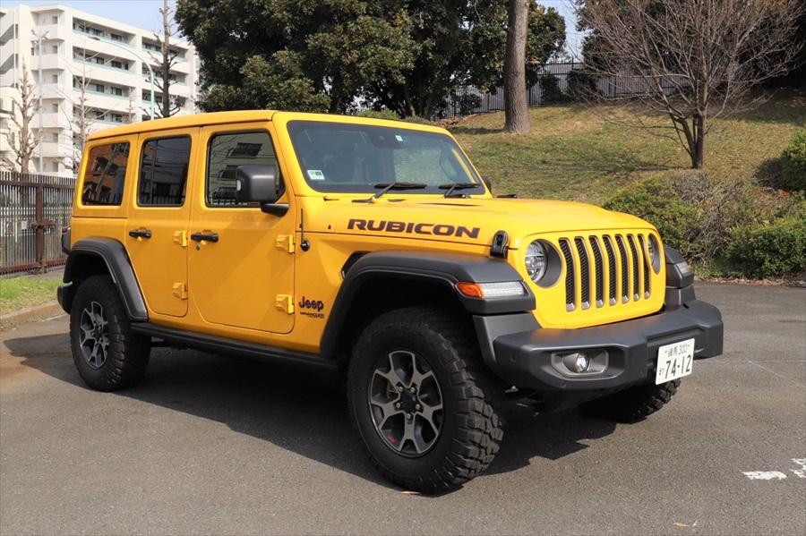 カレコでは「ラングラー」の特別仕様車をラインアップ。「スカイワンタッチパワートップ」がついている