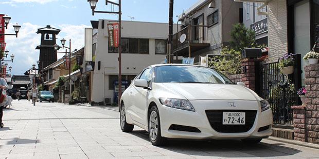 ホンダ CR-Zで小江戸川越ドライブ:父の日スペシャル