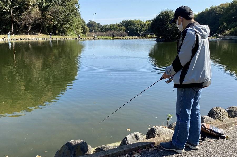 約20年ぶりの釣り。ほぼ初心者のような状態