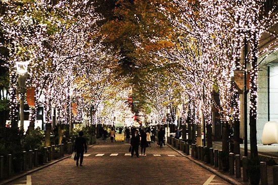 「日本夜景遺産」に認定された「丸の内イルミネーション」