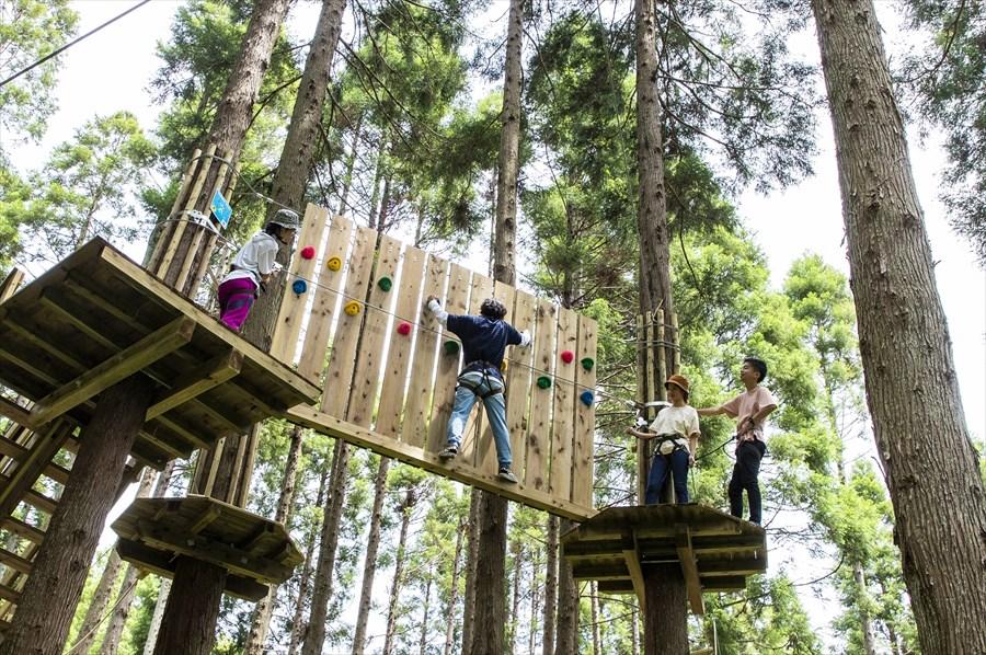 体験型リゾート施設 「リソルの森」へ(画像提供:リソルの森)