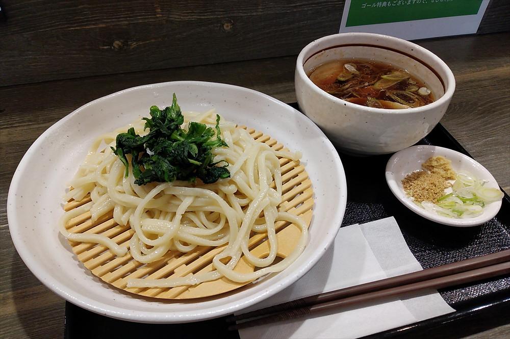 「上里肉汁うどん」750円(税込み)