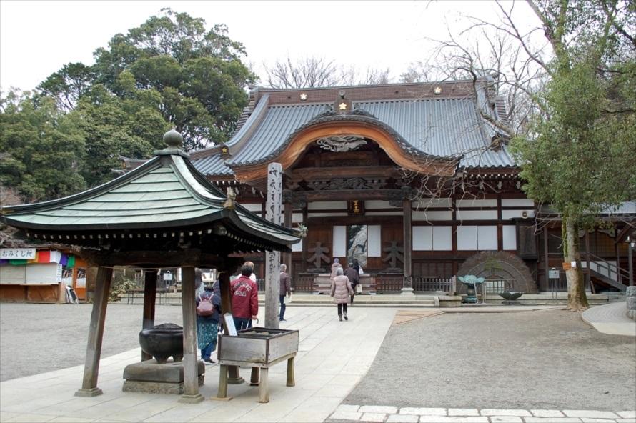 獅子や象、龍などの彫り物が江戸時代らしさを表現している本殿
