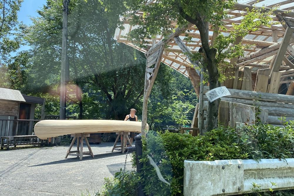 「名栗カヌー工房」ではカヌーの販売、製作、自作カヌーの製作指導(手作りカヌー教室の開催)も行っている