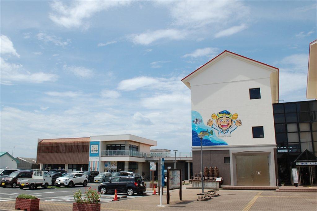 2015年に「館山ふるさと大使」のさかなクンが名誉駅長に就任し、渚の博物館内に「さかなクンギャラリー」が開設されている