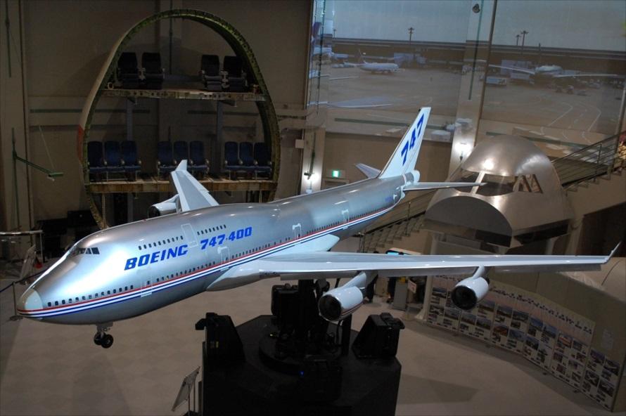 コクピットの操作に従い機体が傾斜したり、ランディングギヤ(車輪)が出し入れされる