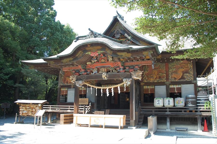 「秩父神社」にはアニメファンだけではなく、多くの拝観者が訪れている