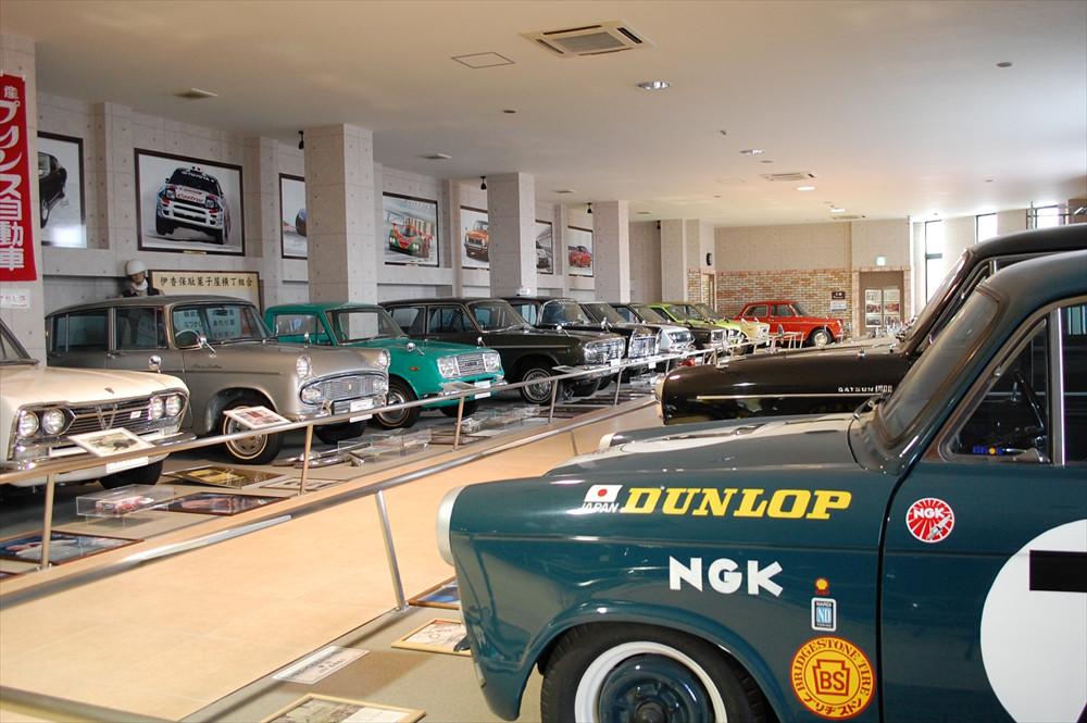 「自動車博物館」内に展示されるクルマは(一部を除いて)レストアがなされ、走行が可能な状態で維持されているそう