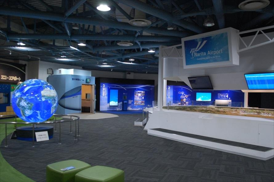 「NAAコーナー」はリニューアルを機に、展示内容が一新された。至るところに最新技術が用いられている